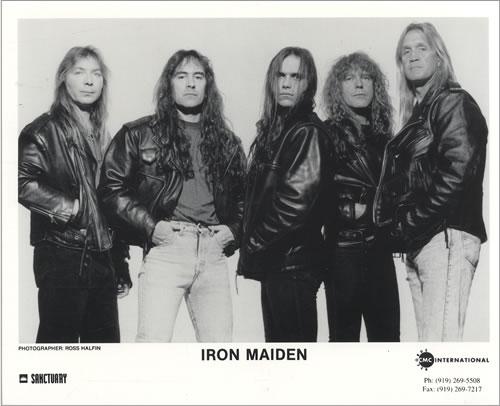Iron Maiden e seu novo frontman, Blaze Bayley